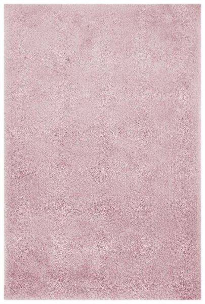 Teppich Hochflor Handgetuftet Pastell Rosa