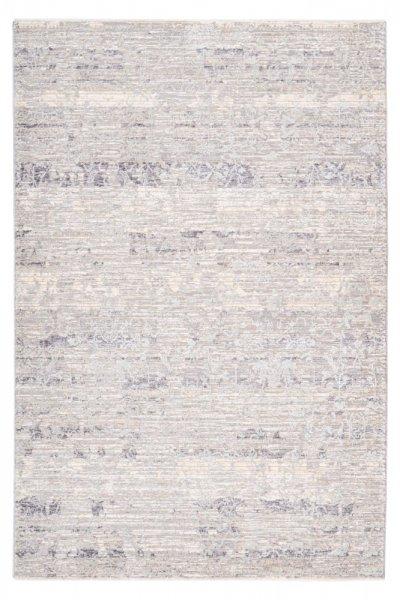 Desingteppich Mia grau Polyester mit Schrumpfanteil Moderner Teppich