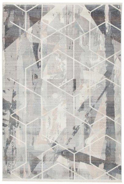 Design Teppich Grau Taupe
