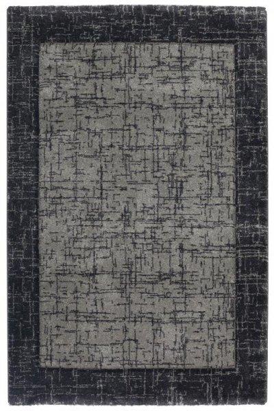 Designer Teppich Anthrazit