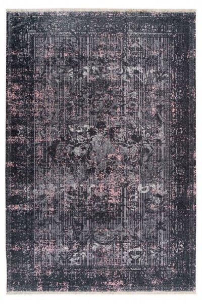 Designteppich Viola anthracite rechteckig modern Vintage Teppich