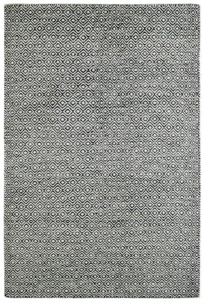 Wollteppich MARRAKESCH Handgewebt Grau