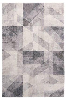Design Teppich Diana Taupe