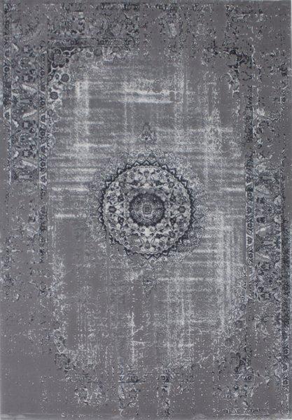 Vintage Teppich GOETHE Grau