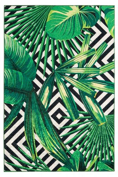 Design Teppich Elena Grün