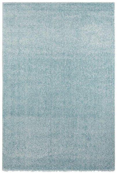 Hochflor Teppich Hellblau