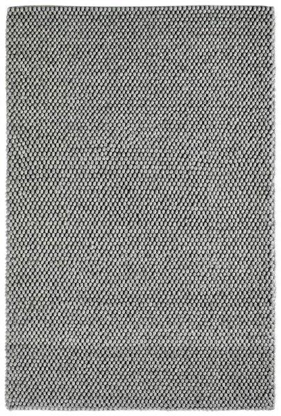 Teppich PENTHOUSE Handgefertigt Silber Grau