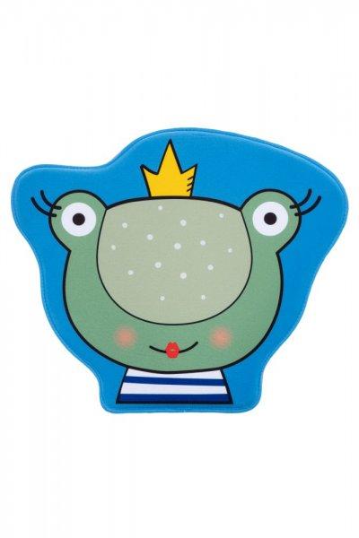 Kinderteppich Frosch Polyester Kinderzimmerteppich Tiermotiv