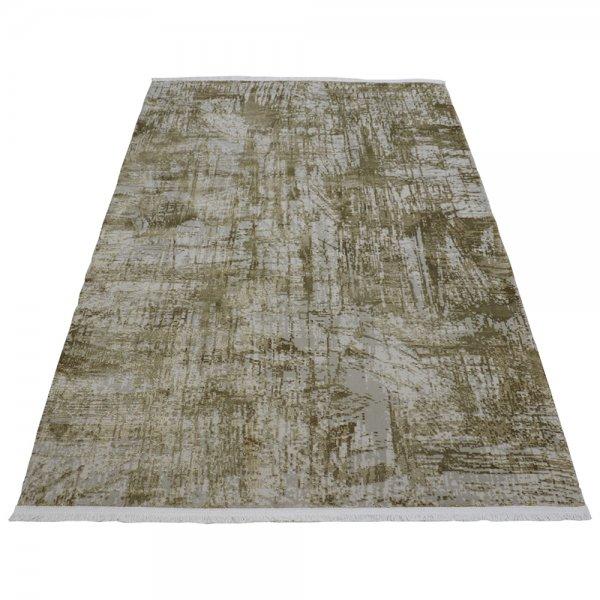 Hochwertig Glanzeffekt Teppich Beige Modern Design