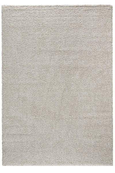 Shaggy Teppich TORBEN Weiß Hochflor