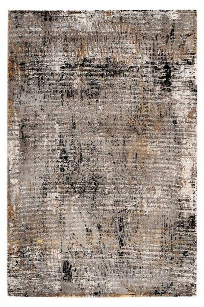 Design Teppich Jolin grey rechteckig Acryl (Schrumpfgarn) Moderner Teppich