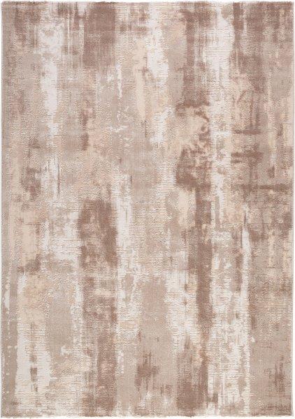 Designer Teppich BELLA Abstrakt Taupe