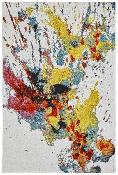 Designer Teppich SPLASH Multicolor