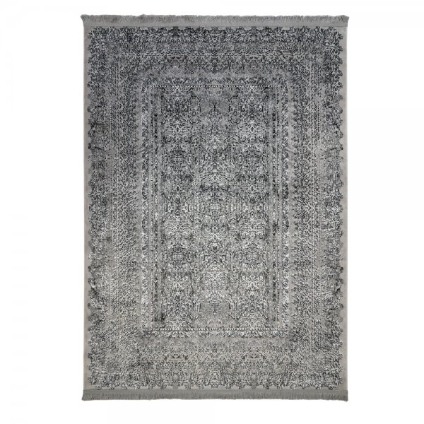 Modern Lichteffekt Teppich Grau Orient