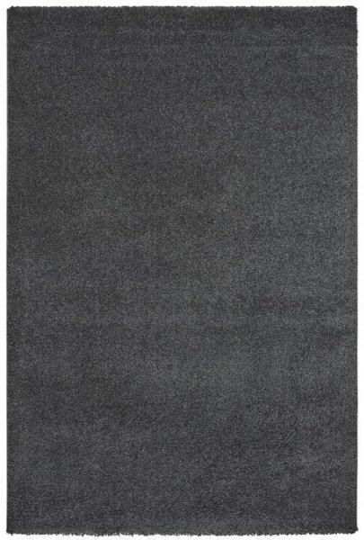 Hochflor Teppich Anthrazit