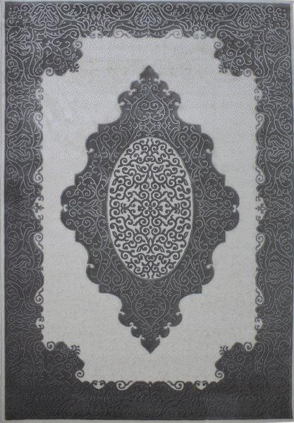 Retro Orientteppich Grau