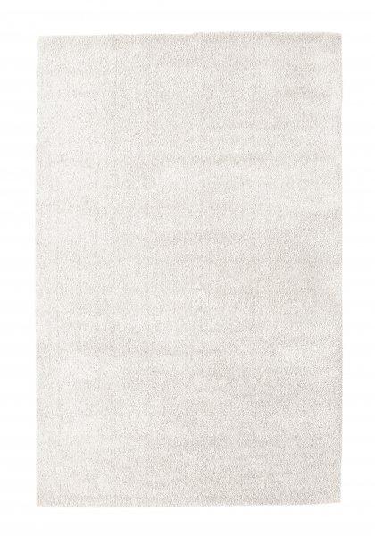 Hochflor Teppich FINN Weiß