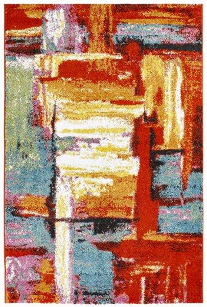 Designer Teppich MOONY Multicolor