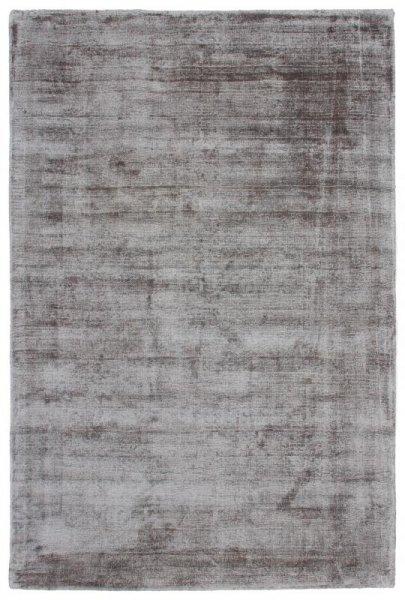 Teppich Used Look Handgewebt Silber Grau