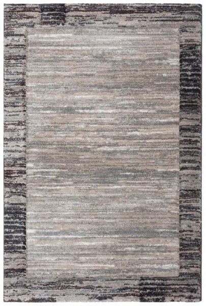 Hochflor Designer Teppich Taupe Beige Grau
