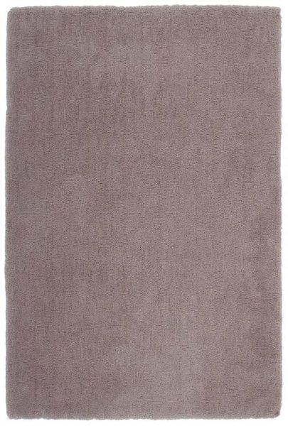 Hochflor Teppich Handgetuftet Beige