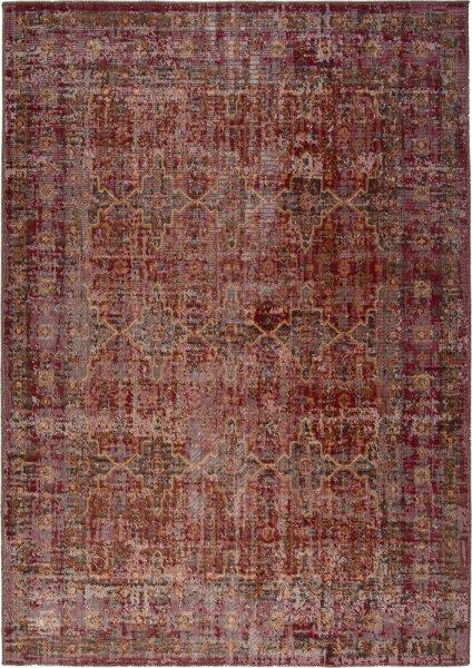 Designteppich Tilda rot rechteckig Vintage Teppich modern Orientteppich