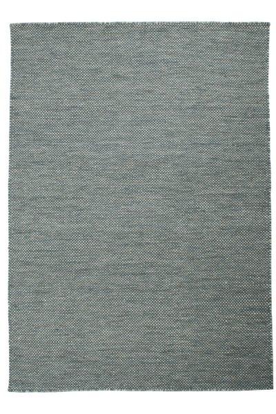 Wollteppich VISBY Handgewebt Grün