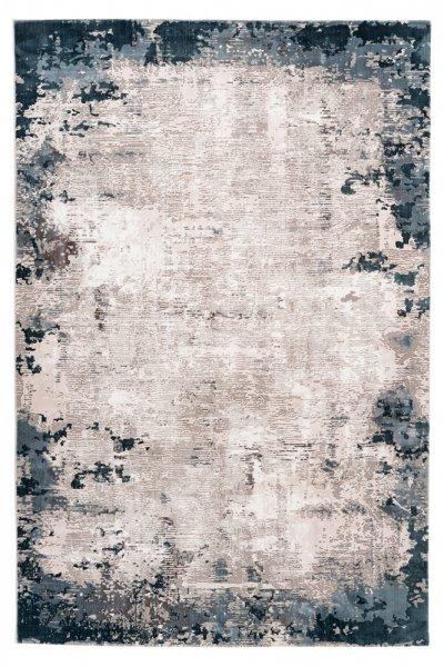 Desing Teppich Olga Blau
