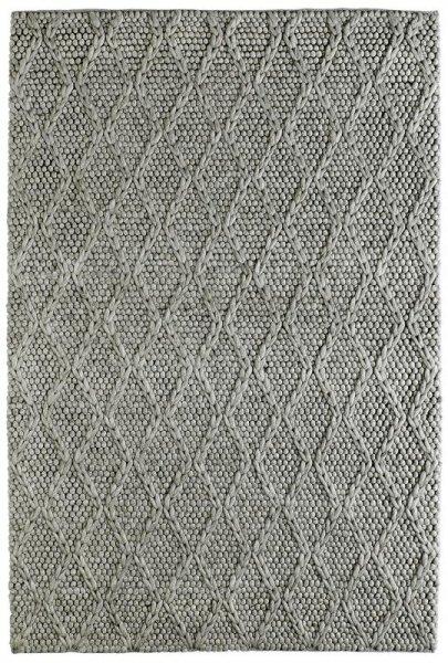 Teppich SCARLETT Handgefertigt Taupe Grau