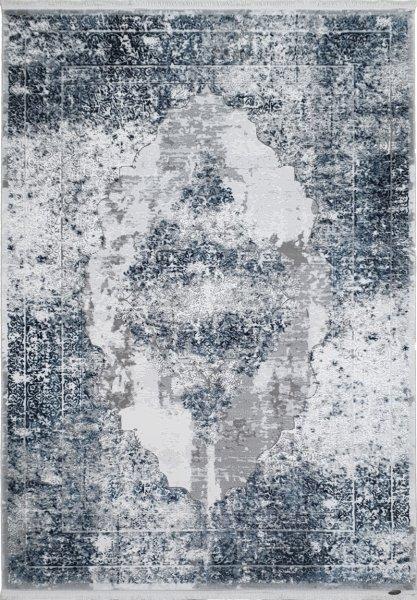 Barock Teppich Used Design Blau