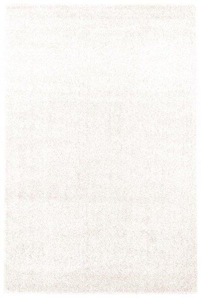 Hochflor Teppich Weiß Creme