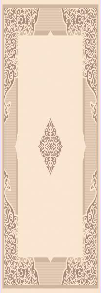 Teppich Läufer Orient Muster Beige Braun