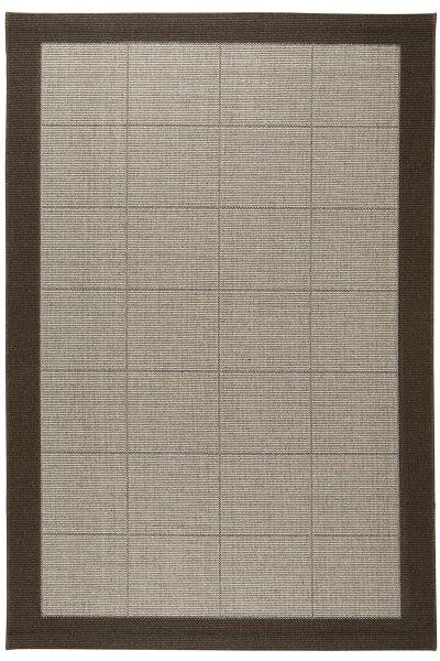 Teppich Dänisches Design Flach gewebt Braun