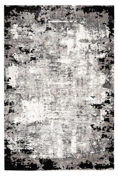Designteppich Oana grau rechteckig Moderner Teppich hochwertig