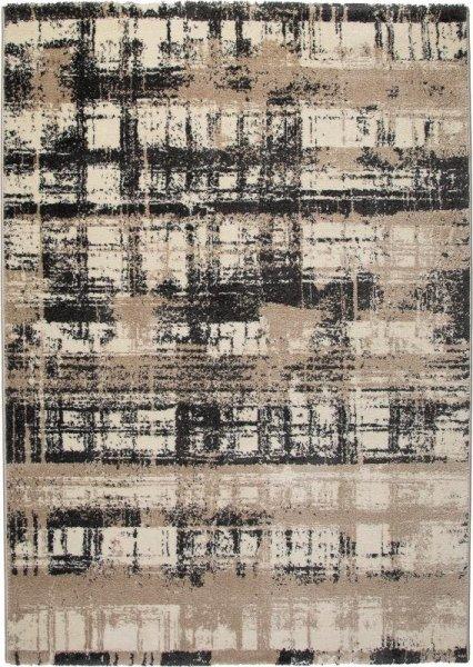 Design Teppich MADRID Taupe Braun