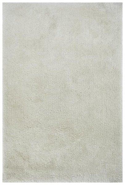 Teppich Hochflor Handgetuftet Weiß