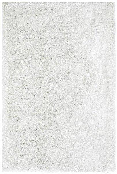 Hochflor-Teppich Handgetuftet Weiß