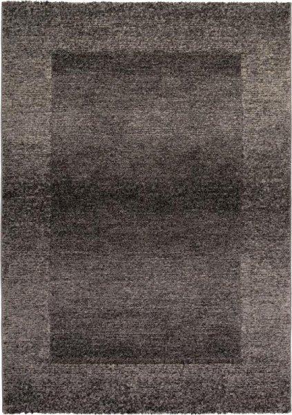 Designer Teppich ADINA Konturenschnitt Grau