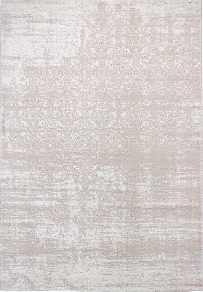 Teppich Leon Vintage Muster Creme Weiß