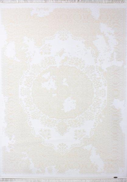 Vintage Teppich VIRGINIA Used Style Weiß