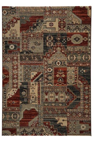 Teppich Orient Design Rot Multicolor