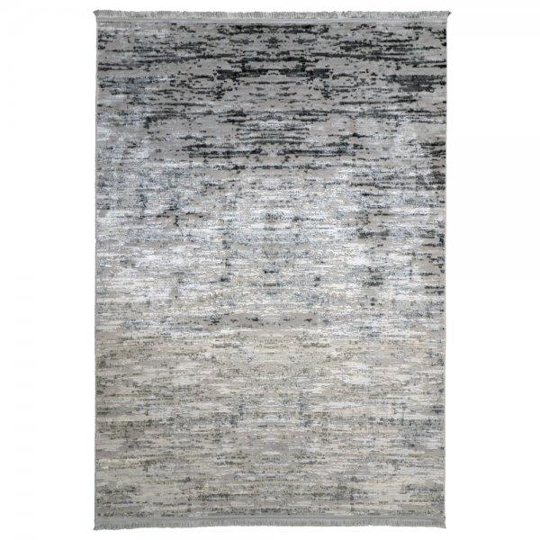 Moderner Teppich Lichteffekt Teppich Muster Fransen