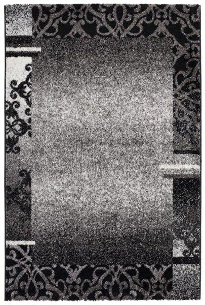 Teppich Ornamente Design Anthrazit