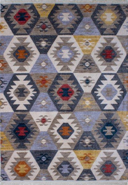 Teppich Ethno Stil Multicolor