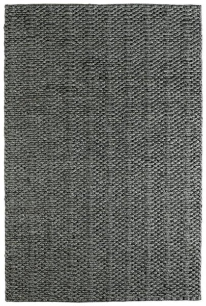 Teppich MILANO Handgefertigt Grau