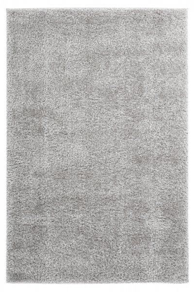 Uni-Desing Hochflor Teppich Emalia Silver