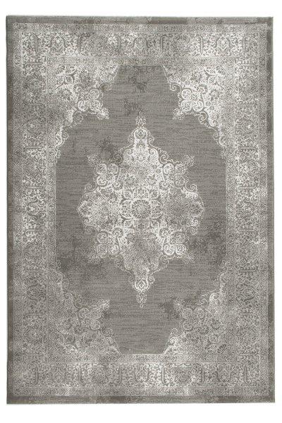 Vintage Teppich LOUISIANA Grau