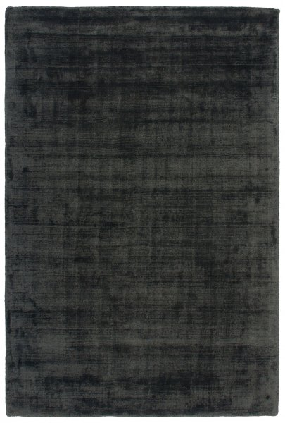 Teppich Used Look Handgewebt Anthrazit