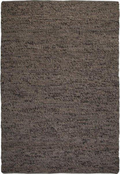 Teppich aus Wolle Handgewebt Grau