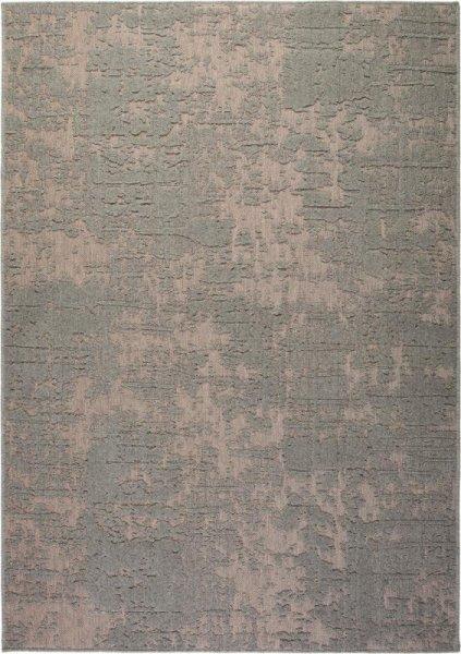 Flachgewebe Wollteppich Steingrau
